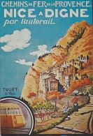 Am - CPM Affiche Cemis De Fer De La Provence - NICE à DIGNE Par L'autorail - Touët Sur Var - France