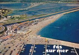 Am - CPM FOS Sur MER - Vue Générale Aérienne  - Le Nouveau Port De Plaisance St Gervais Et La Plage - Other Municipalities