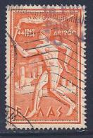 Greece, Scott # C 71 Used Torchbearer, 1954 - Airmail