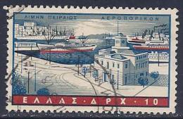 Greece, Scott # C 74, Used  Piraeus Harbor, 1958 - Airmail