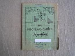 Cahier Illustré Protège-cahier Le Préféré Erbé Année 1959 écrit Section Enfantine. Voir Photos. - Other