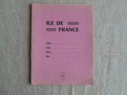 Cahier Ile De France N° 004 Rose écrit élève De CM1 . Voir Photos. - Other