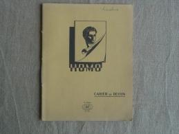 Cahier De Dessin Illustré Homo NF N° 552 Jaune écrit Calcul, Grands Carreaux . Voir Photos. - Other