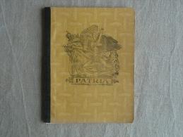 Cahier Illustré Patria Jaune écrit Mathématiques Pendant Les Vacances 1958. Voir Photos. - Other