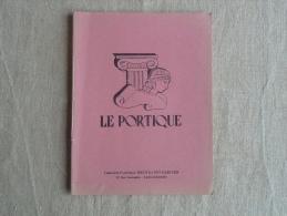 Cahier Illustré Le Portique Breithaupt-Cariven Carcassonne écrit 1957. Voir Photos. - Other