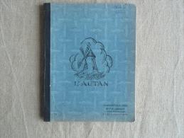 Cahier Illustré L'autan A. Denat Castelnaudary Bleu, écrit, CM1 1962-63. Voir Photos. - Other