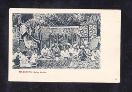SP1-08SINGAPORE. MALAYA LADIES - Singapore