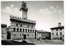 Y1173 Montepulciano (Siena) - Piazza Vittorio Emanuele E Palazzo Comunale / Non Viaggiata - Altre Città