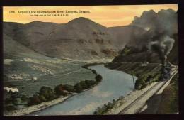 Cpa Etats Unis Oregon Grand View Of Deschutes River Canyon  LAM23 - Non Classés