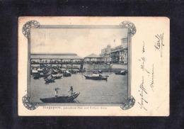 SP2-10SINGAPORE. JOHNSTONS PIER AND COLLYER QUAY - Singapore