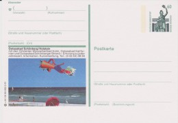 Duitsland 1987 Unused Postal Card Ostseebad Schönberg - Brieven En Documenten