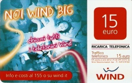 *ITALIA - WIND* -  Scheda Usata - Italia