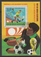 BLOC OBLITERE DE GUINEE EQUATORIALE - COUPE DU MONDE DE FOOTBALL MUNICH´74 : RIVA ET PIAZZA - Coppa Del Mondo