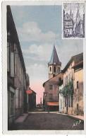 VALENCE - Rue Du Coup De Vent Et Clocher - Valence D'Albigeois