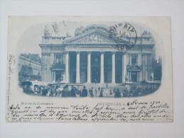 Bruxelles Bourse De Commerce 1900 - Monuments, édifices