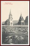 ★★ TORPE KIRKER I HALLINGDAL ★★ BERGENSBANE. CHURCH TORPE. NORWAY  ★★ - Norwegen