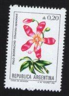 Argentine Flore Fleur Flower Palo Borracho Chorisia Speciosa - Pflanzen Und Botanik