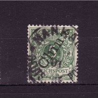 CHINA GERMAN COLONY 1898  Regular Issue Overprinted Michel Cat N° 2II  Very Fine Used Hankau Cancellation - Offices: China