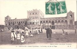 64 HENDAYE - Le Casino Vu De La Plage  - Timbrée TTB - Hendaye