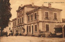 61     ALBA    -    ECOLE  ET  MAIRIE - France