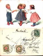 Illustrateur Feiertag - BKWI 565-2, Bisou (timbre-taxe Suisse) - Feiertag, Karl