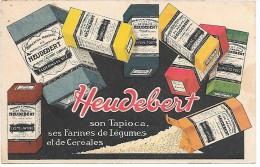 PUBLICITE - HEUDEBERT - Werbepostkarten