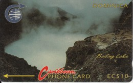 DOMINICA(GPT) - Boiling Lake, CN : 4CDMA(silver Band), Tirage 37227, Used - Dominica
