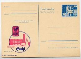 VOLLEYBALL EC Suhl 1983 East German Postal Card P80-10a-83 Special Print C42 - Pallavolo