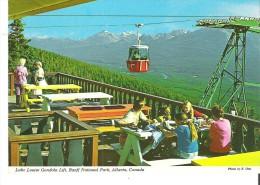 Lake Louise Gondola Lift, Banff National Park, Alberta - Lake Louise