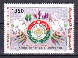 Tunisia - 2010 - ( 3eme Congres De L;Organisation De La Femme Arabe ) - MNH (**) - Tunisia (1956-...)