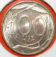 100 LIRE 2001 ITALIEN FDC (STEMPELGLANZ-UNCIRCULATED) DIREKTKAUF - 1946-…: Republik