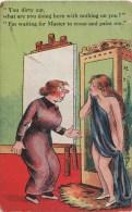 FITZPATRICK: Modèle Et Femme Du Peintre [ Femme Nue Chevalet ] AF024 - Illustrateurs & Photographes