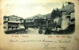 SLOVAKIA /  HOHE TATRA / THE HIGH TATRAS  -   SCHMECKS      1900. - Slovakia