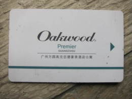 China Hotel Key Card,Oakwood Premier Guangzhou Hotel - Hotel Keycards