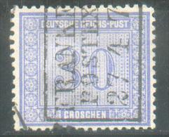 N°27 - 30 Gr. Bleu, Annulé Par La Griffe FRANKREICH/POSTEXPED.  Yvert 3250 Euros. - 9837 - Germany
