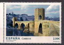 2013  Spanien Mi. 4784* *MNH Alte Brücke Von Besalú über Den Fluß Fluviá, Girona - 2011-... Nuovi & Linguelle