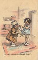 GERMAINE BOURET . LES PETITS CADEAUX ..... /  MARS 14 ///   REF 1922 - Bouret, Germaine