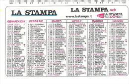 CAL030 - CALENDARIETTO 2002 - LA STAMPA - Calendarios