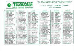 CAL047 - CALENDARIETTO 2002 - TECNOCASA - Calendarios