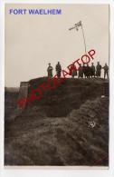 FORT De WALEM-WAEHLEM-1914-Mechel En-Festung ANTWERPEN-Carte Photo Allemande-Guerre 14-18-1WK-BELGIEN-Flander N-Militari - Mechelen