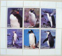 URSS (Russie) MANCHOTS, PINGOUINS, Feuillet 6 Valeurs ( 1) Neuf Sans Charniere MNH - Penguins
