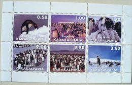 URSS (Russie) MANCHOTS, PINGOUINS, Feuillet 6 Valeurs ( 2) Neuf Sans Charniere MNH - Penguins