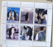 URSS (Russie) MANCHOTS, PINGOUINS, Feuillet 6 Valeurs (4) Neuf Sans Charniere MNH - Penguins