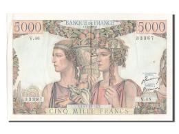 [#203100] 5000 Francs Type Terre Et Mer, 01 Février 1951, Fayette 48.3 - 1871-1952 Gedurende De XXste In Omloop