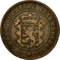 Monnaie, Luxembourg, William III, 5 Centimes, 1854, Utrecht, TTB, Bronze - Luxembourg