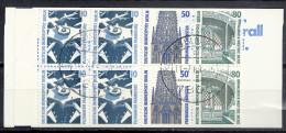 Deutschland Berlin Markenheftchen 1989 Michel Nr. MH 14 Gestempelt 11.7.89 7800 Freiburg OZ Top Qualität Yvert+T C 759 B - Berlin (West)