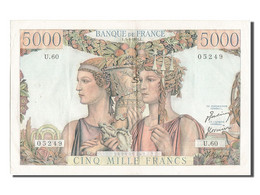 [#203102] 5000 Francs Type Terre Et Mer, 05 Avril 1951, Fayette 48.4 - 1871-1952 Gedurende De XXste In Omloop