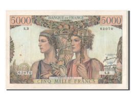 [#303028] 5000 Francs Terre Et Mer Type 1949, 10 Mars 1949, Fayette 48.1 - 1871-1952 Gedurende De XXste In Omloop