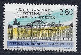 France - Cour De Cassation YT 2886 Obl. - France