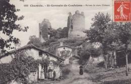 SAINT-GERMAIN De CONFOLENS - Ruines Du Vieux Château - Autres Communes